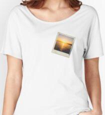 Sunset Polaroid Women's Relaxed Fit T-Shirt