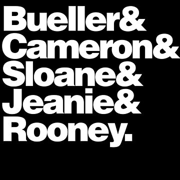 BUELLER & by rule30