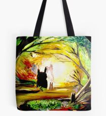 In the Woods... Tote Bag