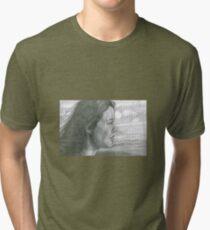 Windy Portrait Tri-blend T-Shirt