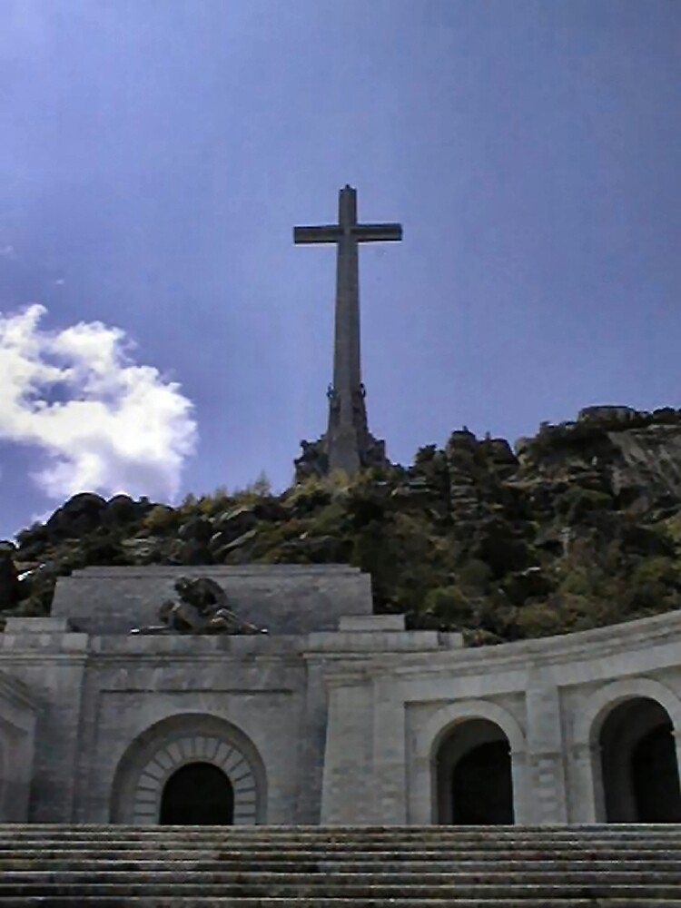 Valley of the Fallen  view from the esplanade. by shadyuk