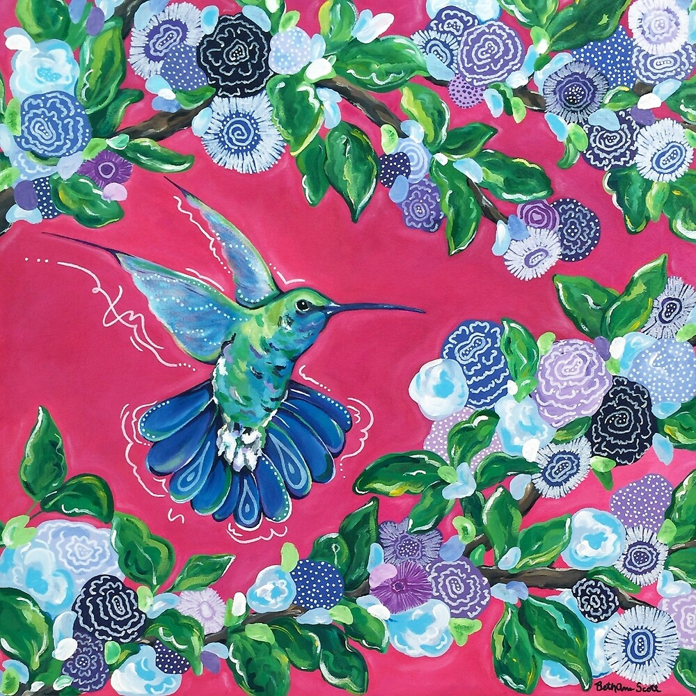 Hummingbird by Beth Ann  Scott