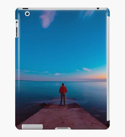 Sunset at the sea, Trieste iPad Case/Skin