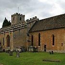 St Mary's Church, Bibury by RedHillDigital