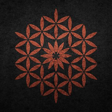 The flower of Life - Copper by RAFAROMAN