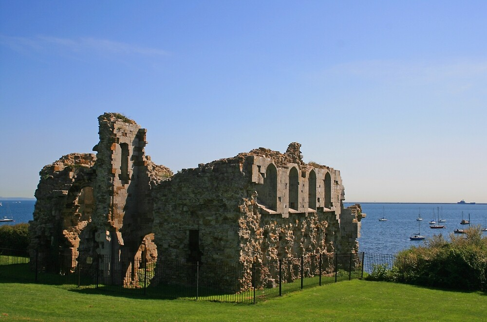 Sandsfoot Castle by RedHillDigital