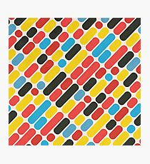Colorful Trend Pattern Photographic Print