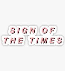 HARRY STYLES // SIGN OF THE TIMES Sticker