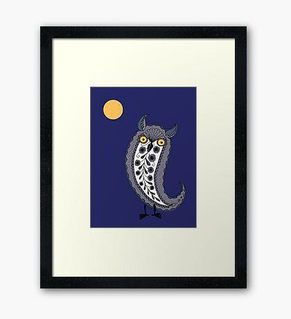 Paisley Owl Framed Print