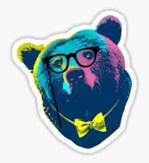 Pop Art I (Papa Bear) Sticker