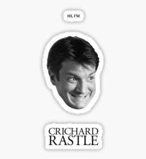 Crichard Rastle - Castle Sticker