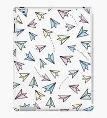 Pastel airplanes iPad Case/Skin