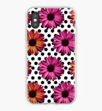 Polka Dot Daisy Love iPhone Case