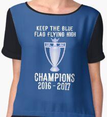Chelsea Premier Champions 2016 2017 Chiffon Top
