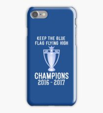 Chelsea Premier Champions 2016 2017 iPhone Case/Skin