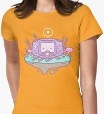 Cutie Gamer Womens Fitted T-Shirt
