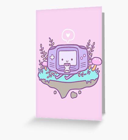 Cutie Gamer Greeting Card