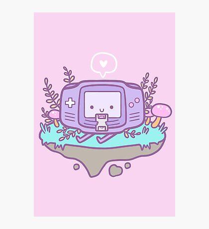 Cutie Gamer Photographic Print