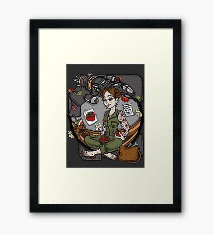 Kaylee's Bunk Framed Print