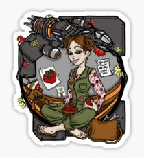 Kaylee's Bunk Sticker
