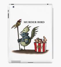Murder Bird T-shirt iPad Case/Skin