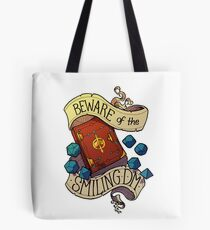 Beware of the Smiling Dungeon Master Tote Bag