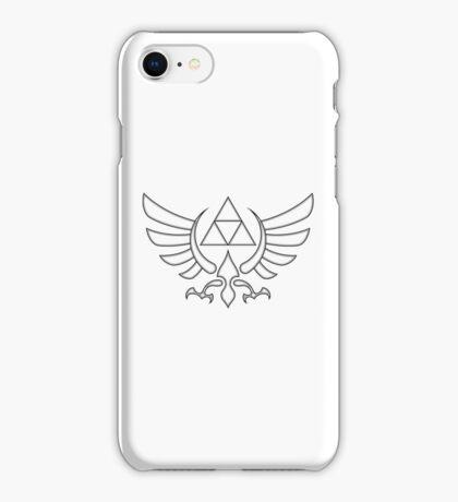 Triforce Black iPhone Case/Skin