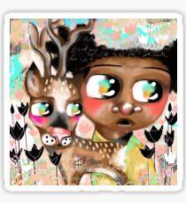 We Are Deer Friends Sticker