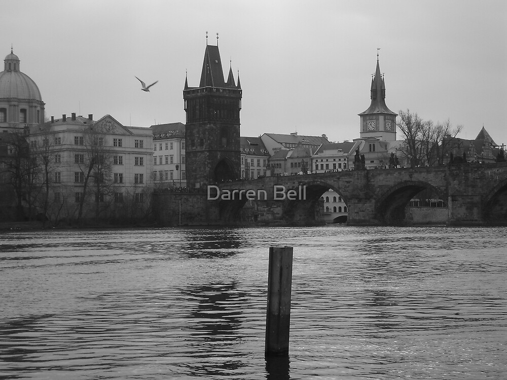 Prague Black and White by Darren Bell