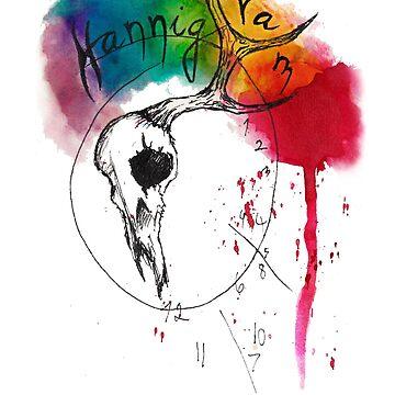 Hannigram Stag Clock by reketrebn13
