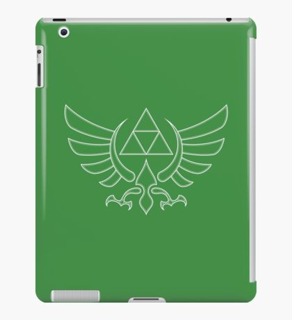 Triforce White iPad Case/Skin