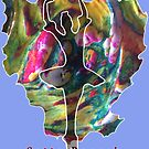 JUST DANCE COLOURFUL BALLERINA by Nicola Furlong