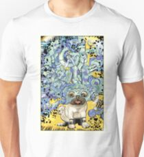 The Over-Pug. Unisex T-Shirt