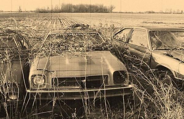 vintage car by lmu1982