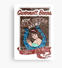 Gwinnett Beers New Seasonal Brews On Tap Metal Print