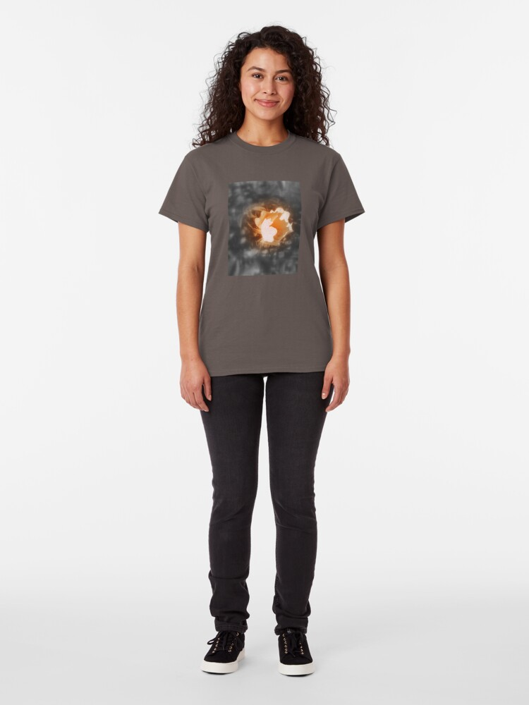Alternate view of old-fashioned roses by Fox Creek & Columbia River 10 Classic T-Shirt