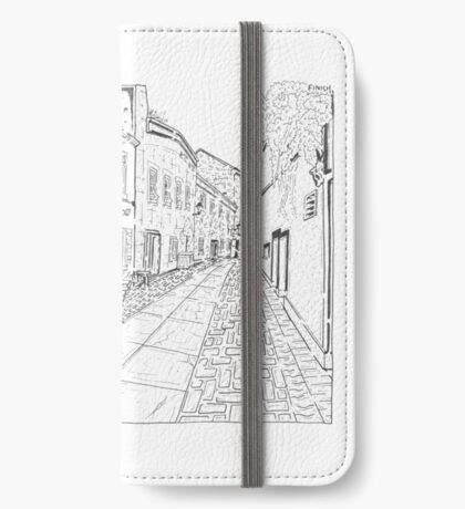 The Lane Cafe Maze (Galway, Ireland) iPhone Wallet