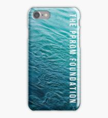 The PPROM Foundation - Teal Water iPhone Case/Skin