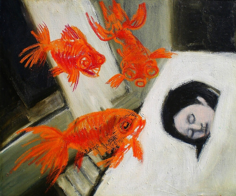 goldfish dreaming by donna malone