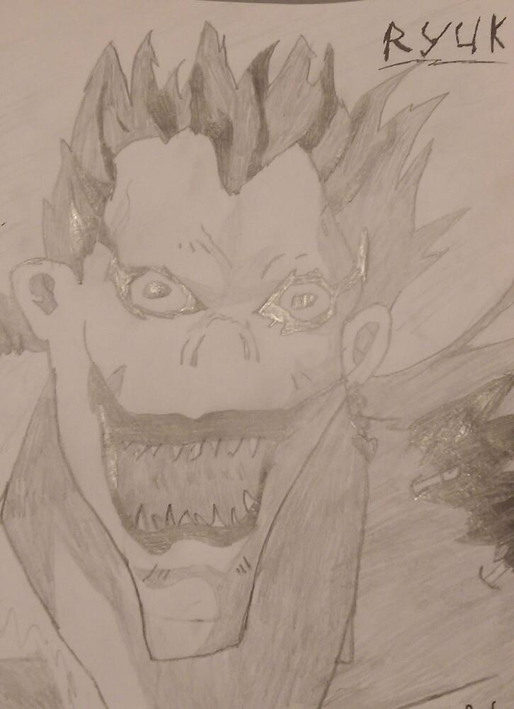 Ryuk -- Shinigami by Anime-N-Stuff