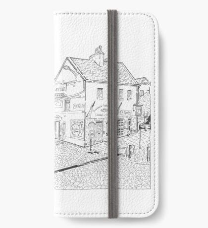 The Latin Quarter Maze (Galway, Ireland) iPhone Wallet