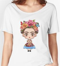 Frida Kahlo Funny T-Shirt Women's Relaxed Fit T-Shirt