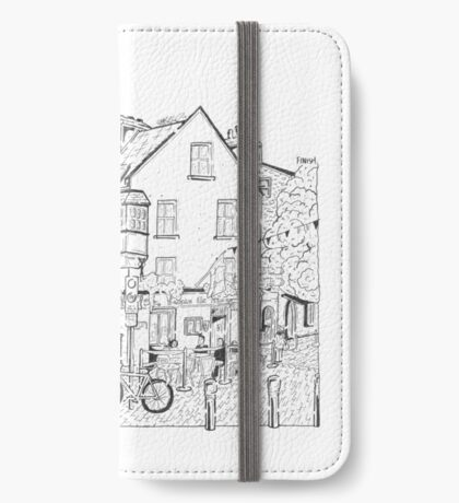 Tigh Neachtain Maze (Galway, Ireland) iPhone Wallet
