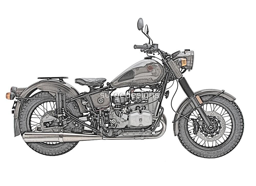 Ural Motorcycle by surgedesigns