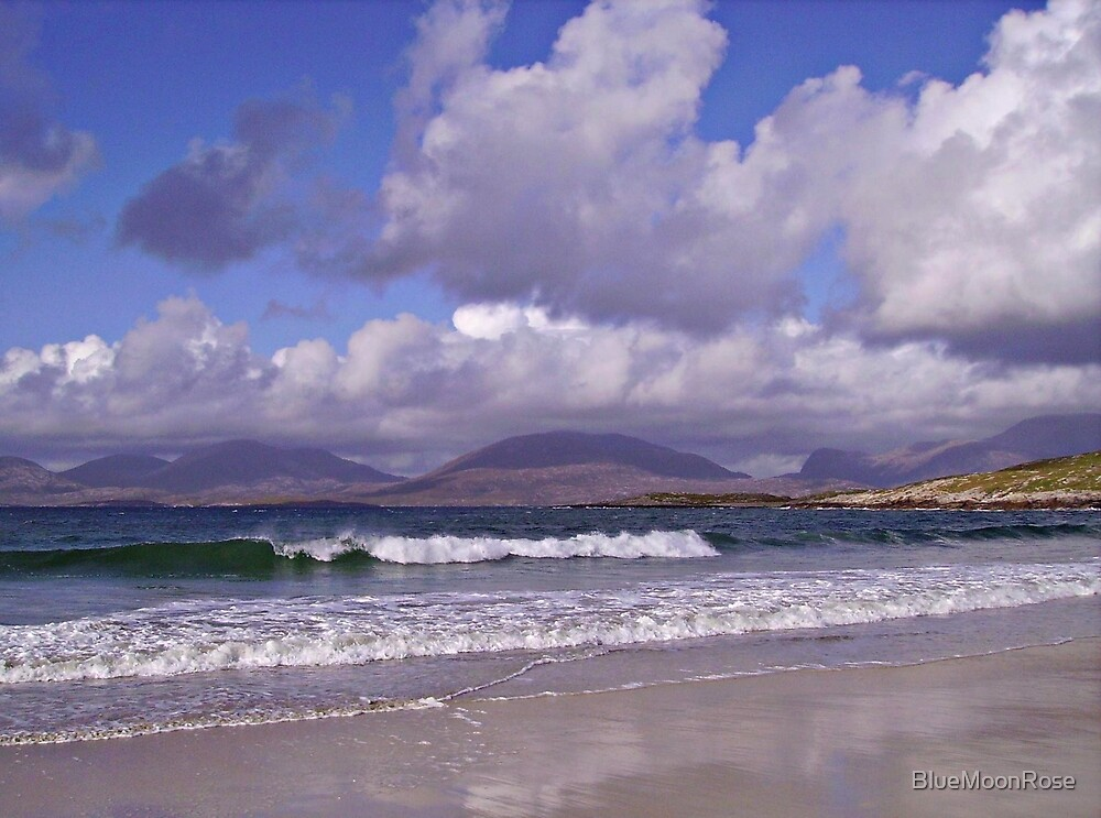 An Afternoon on the Beach in September -  Outer Hebrides von BlueMoonRose