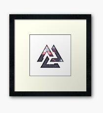 Tritonal Framed Print
