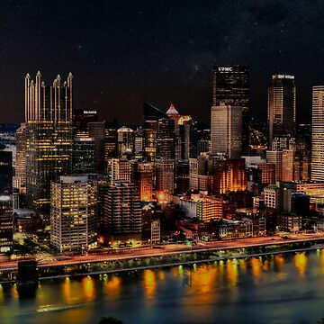 Nights in Pittsburgh by dzf1z1