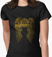 Non Timebo Mala Womens Fitted T-Shirt
