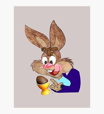 Easter bunny  [6380 Views] Photographic Print