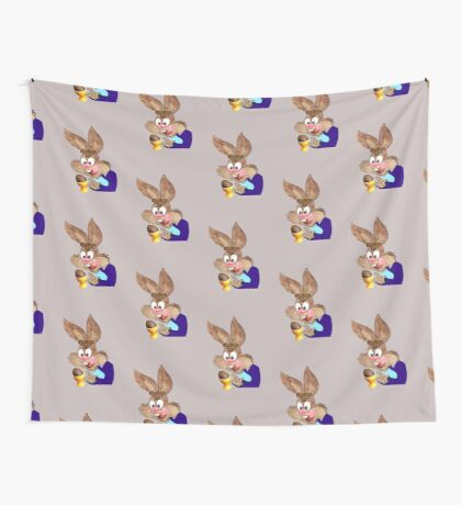 Easter bunny  [6492 Views] Wall Tapestry